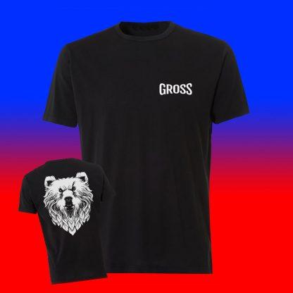 Camiseta Gross - delante y espalda