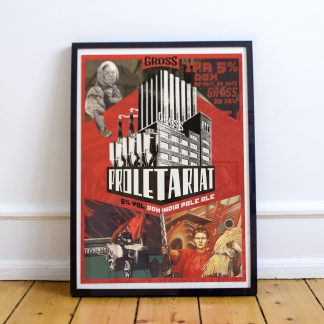 Proletariat Comunist Poster