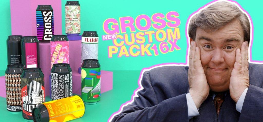 Gross Custom Beer Pack
