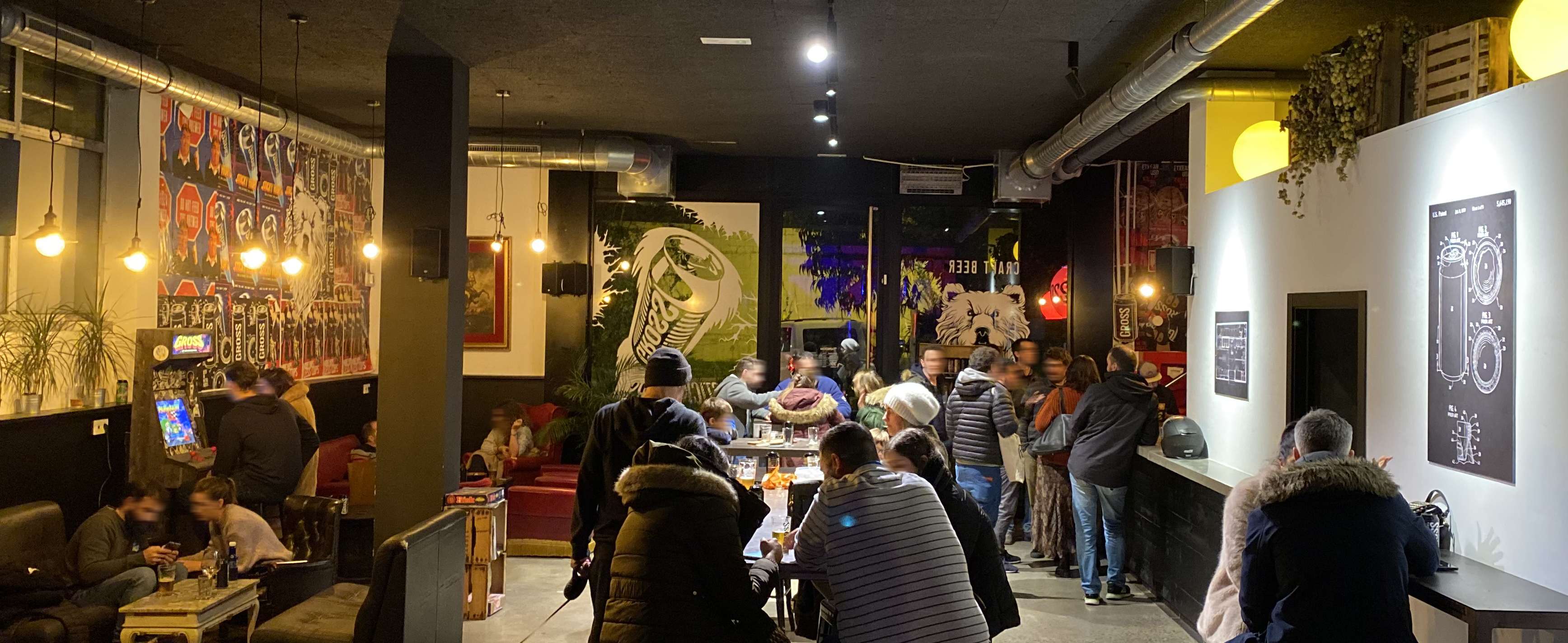 Gross Taproom brewery Igara Donostia