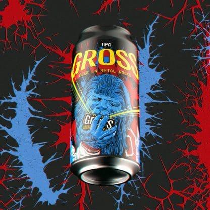 Gross beer In Metal Rocks IPA